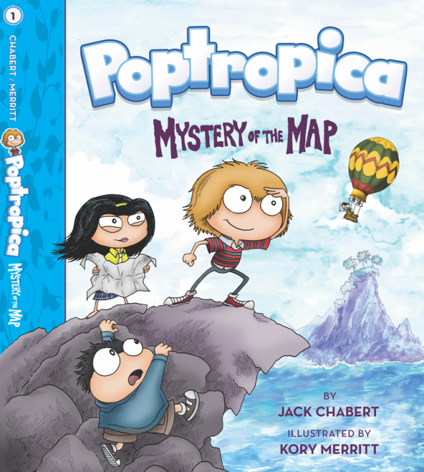 Poptropica Mystery of the Map Book Cover
