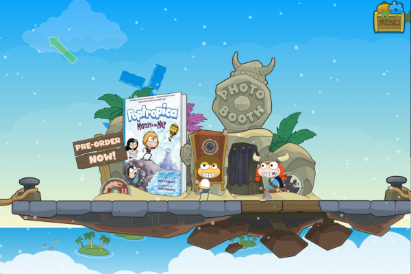Poptropica - Mystery of the Map - Photo Booth 1