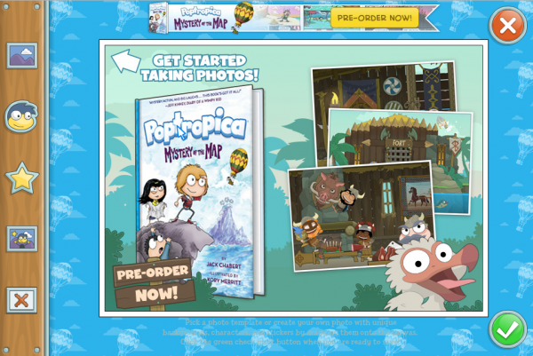Poptropica - Mystery of the Map - Photo Booth 2