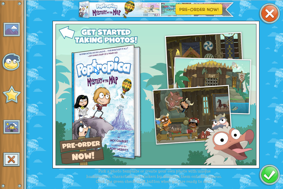 Poptropica Book Hits Shelves: Poptropica Mystery of the Map