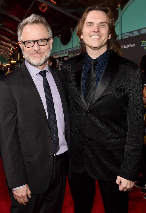 Rich Moore and Byron Howard Disney Zootopia Premiere