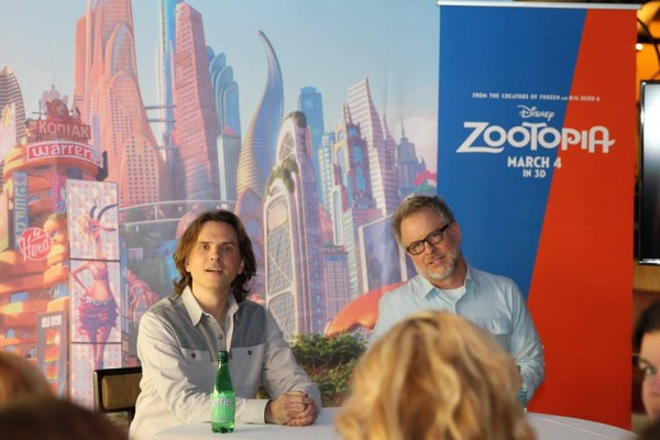 Zootopia Directors Interview Byron Howard and Rich Moore