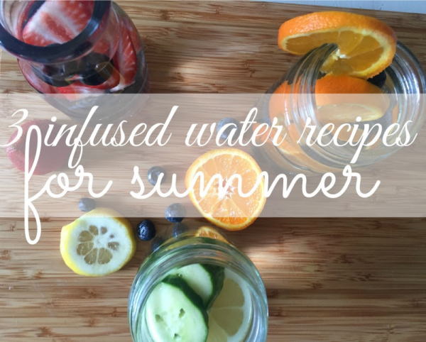 3 infused water