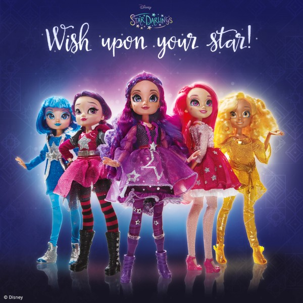 Star Darlings dolls