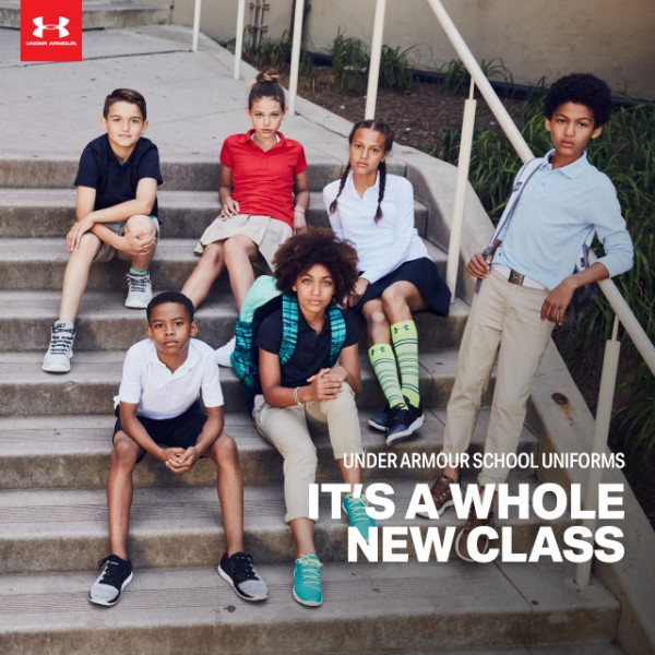 Under Armour's Brand New School Uniforms