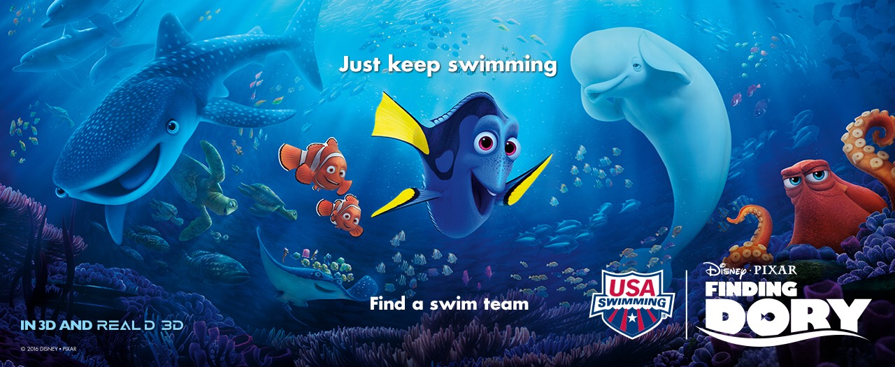 USA Swimming partners with Finding Dory