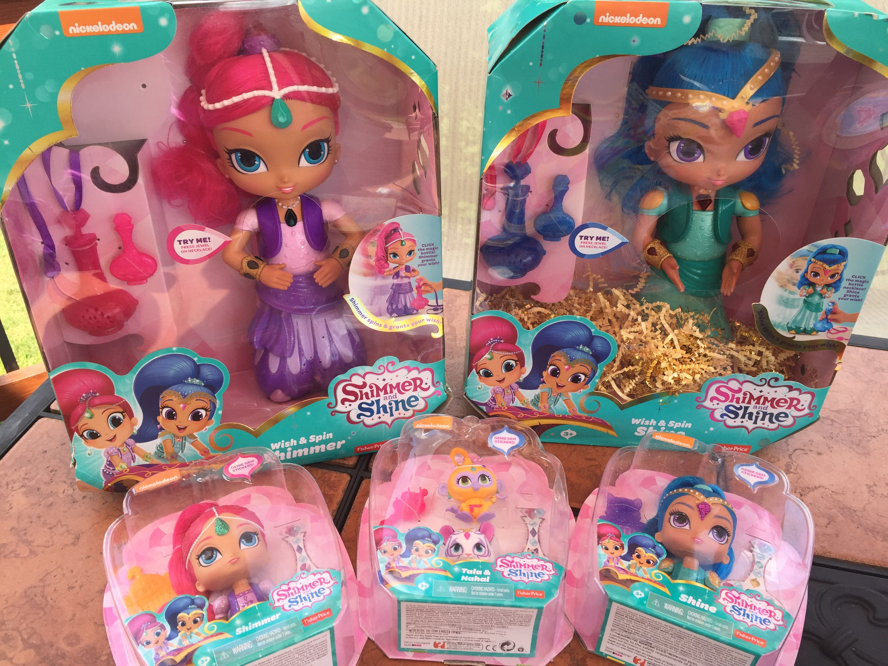 Free Coloring Pages Shimmer And Shine : Shimmer and shine wish and spin dolls video review