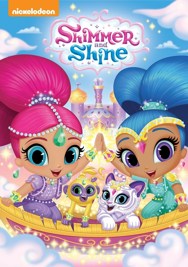 Shimmer and Shine DVD cover