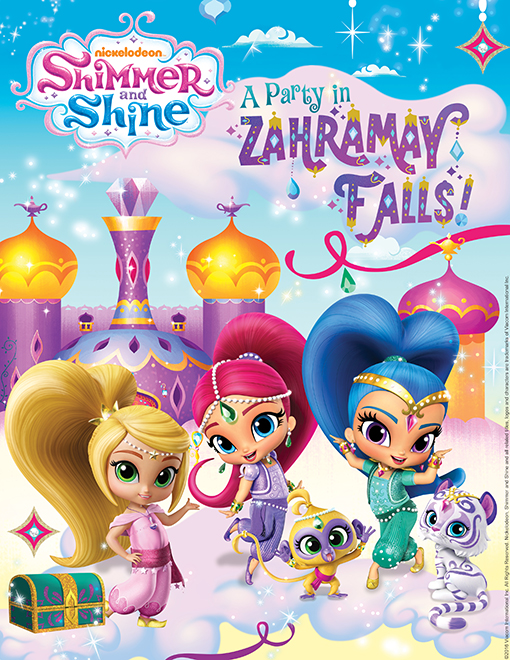 shimmer shine free coloring book