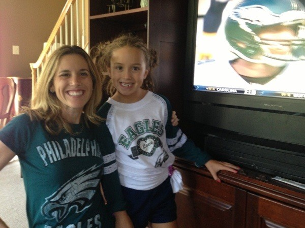 kenzie-mom-eagles