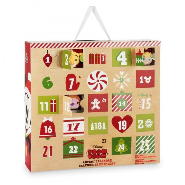 Disney Store Tsum Tsum Advent Calendar Video Review