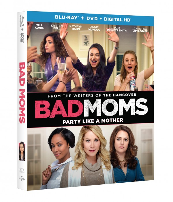 Bad Moms Blu-Ray DVD giveaway