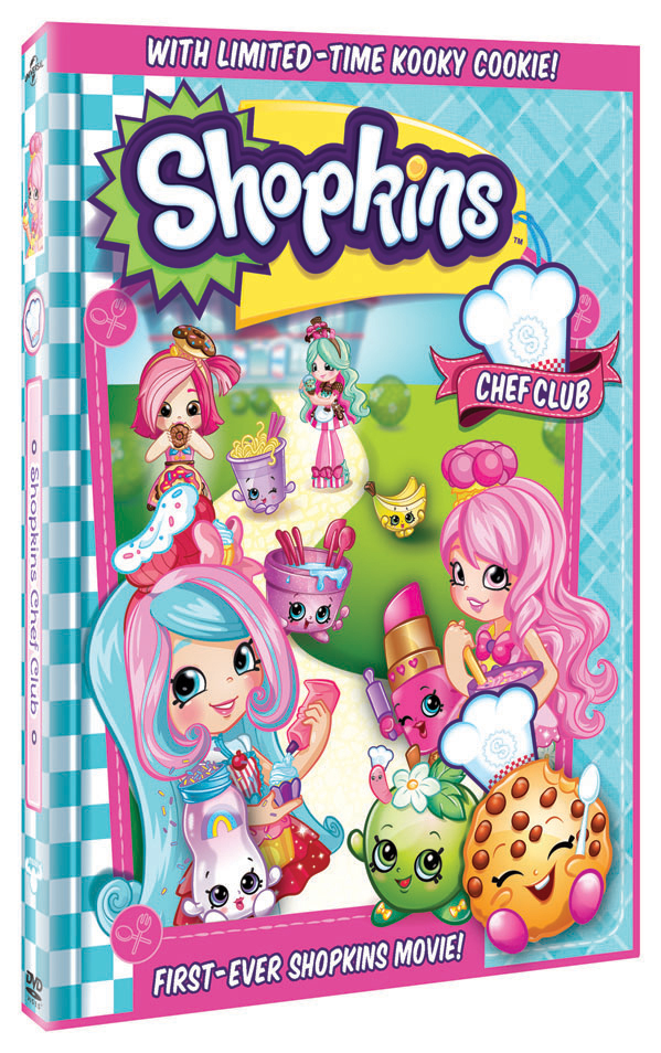 Shopkins Chef Club Movie DVD Giveaway