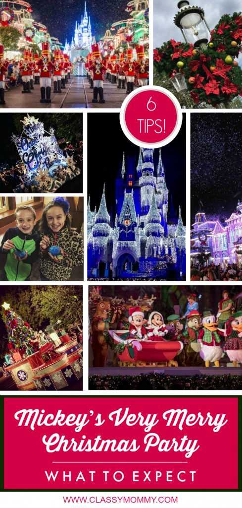 Mickey's Very Merry Christmas Party Photos and Tips