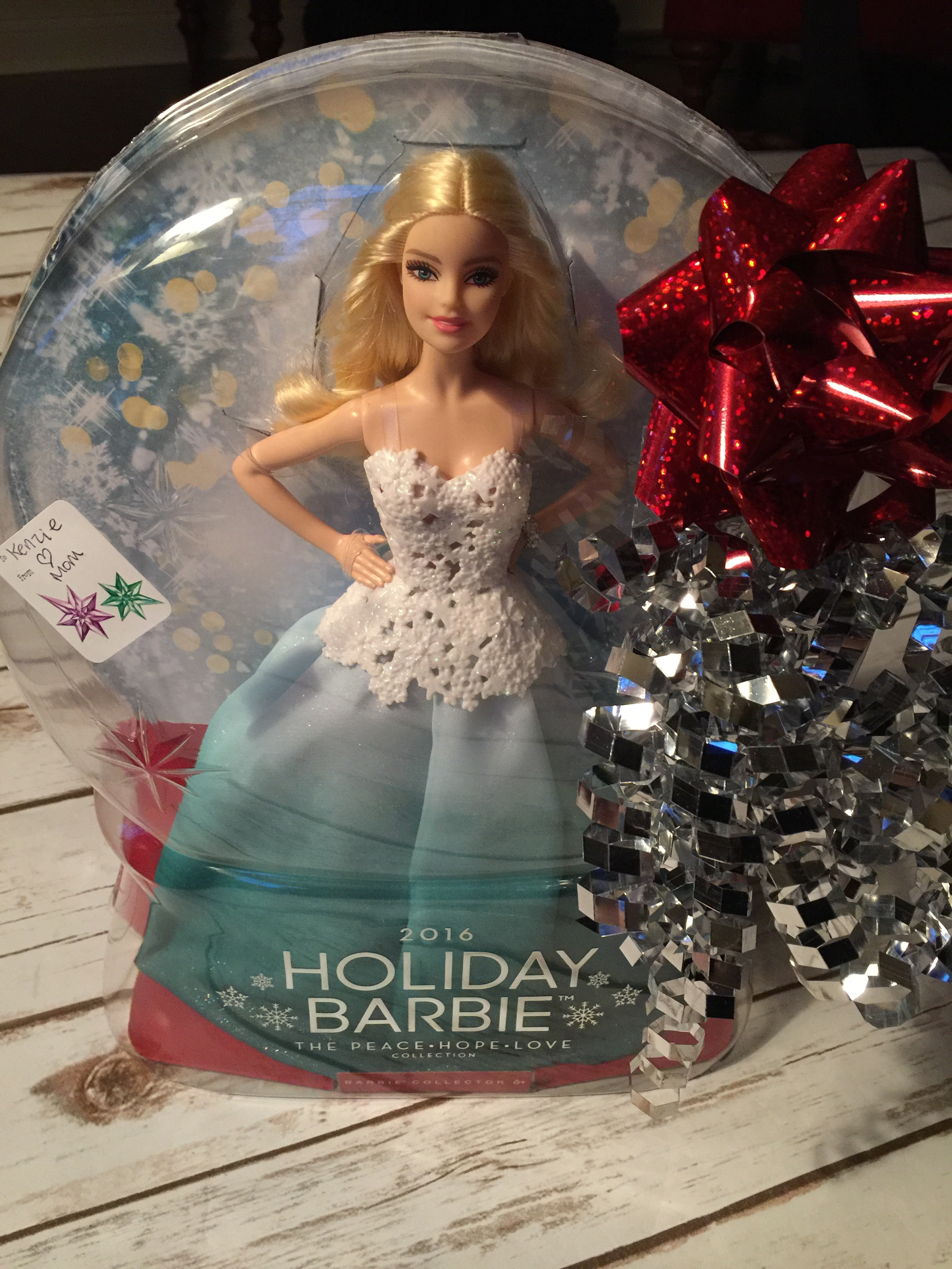 2016 holiday barbie u2122 doll  making  barbie gifts a special