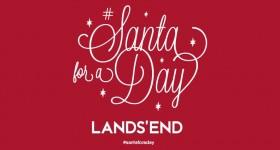 Kids Interviewed for the Job of Santa for a Day #SantaForADay #LandsEndHoliday