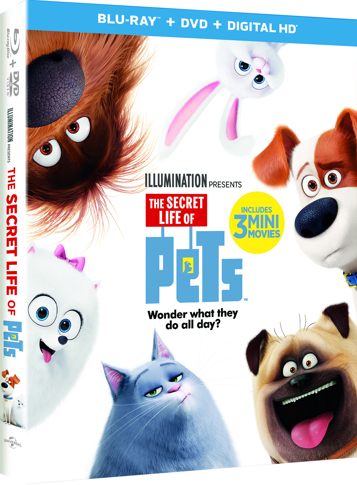 Secret Life of Pets BluRay DVD Givewaway