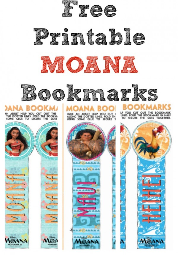 image regarding Printable Moana identify Disneys MOANA: Absolutely free MOANA Printable Bookmarks - Cly Mommy