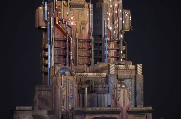 Guardians of the Galaxy Scale Model Exterior