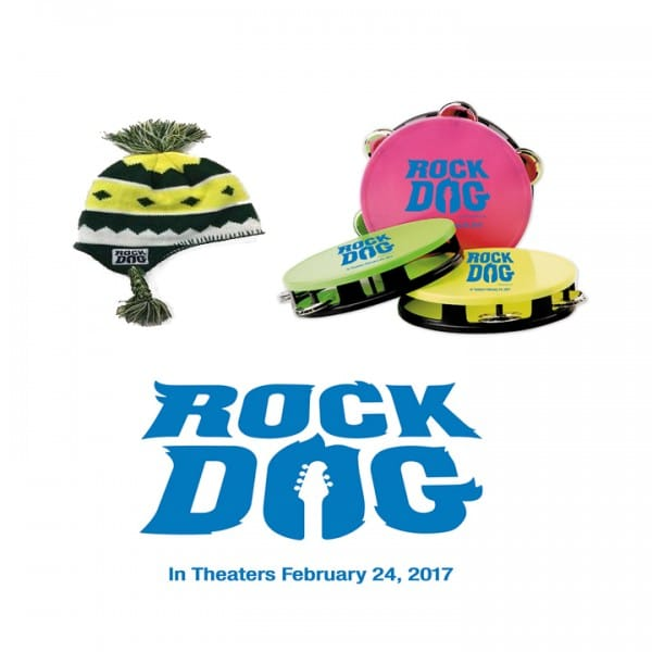 Rock Dog Prize package giveaway