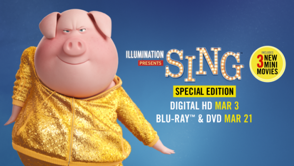 SING Special Edition Release Dates