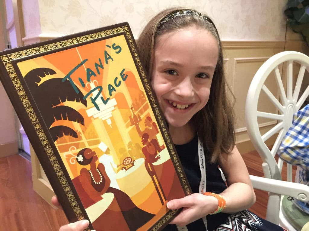 Video Review of Tiana's Place Restaurant on Disney Wonder Cruise