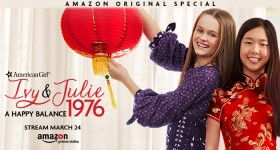 American Girl Story Ivy & Julie 1976 Airs on Amazon Prime