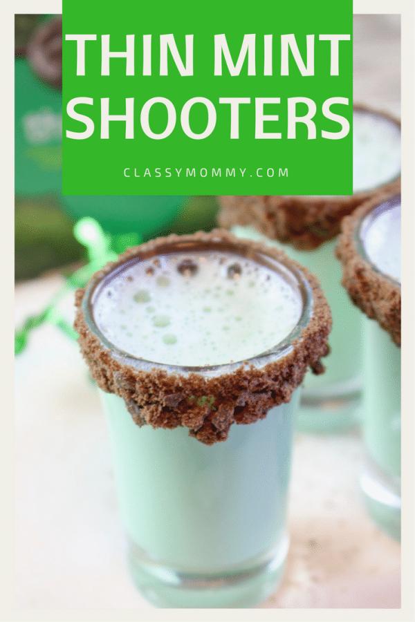 Thin Mint Shooters Recipe