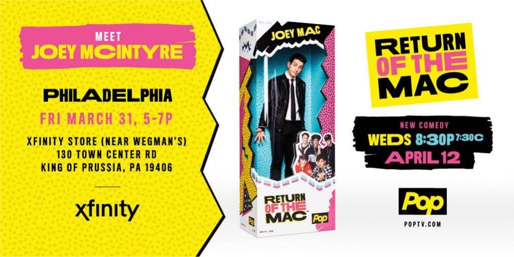 Details to Meet Joey McIntyre at Xfinity Store in King of Prussia