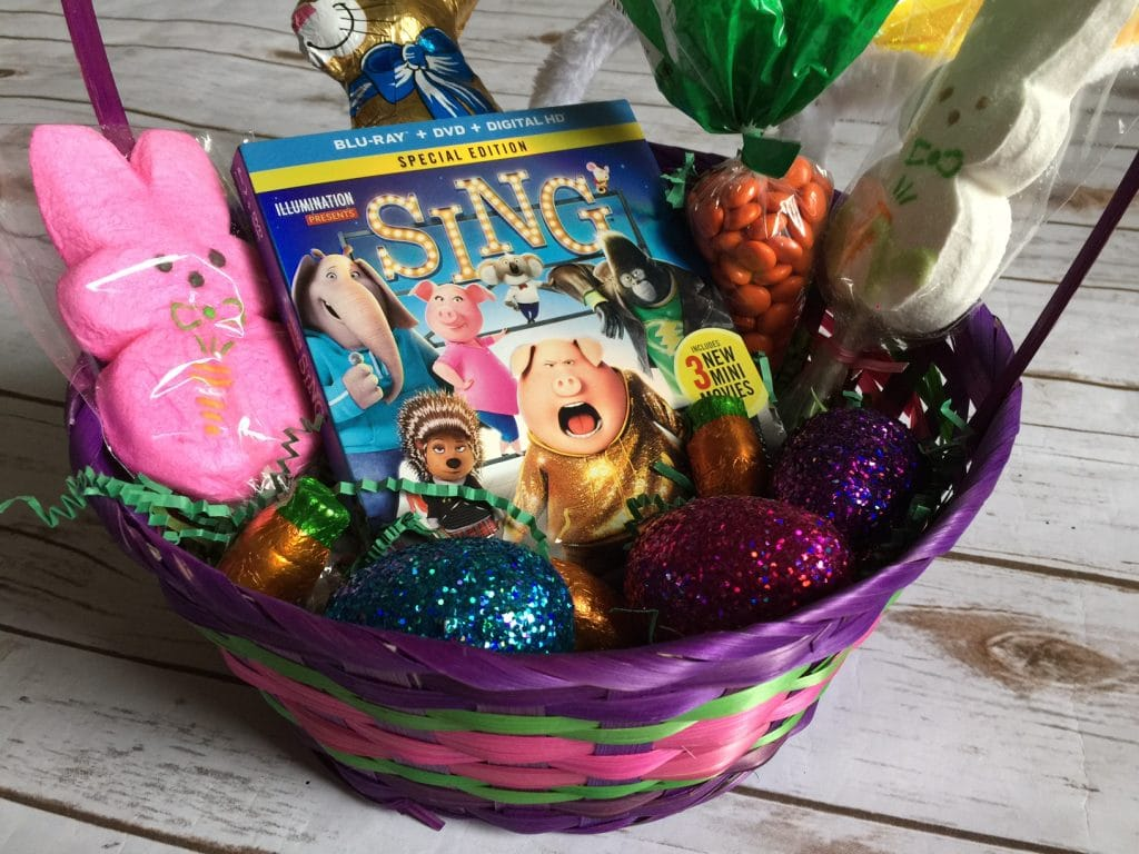 Sing Movie Easter Basket stuffer