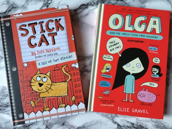Stick Cat and Olga and the Smelly Thing from Nowhere Book