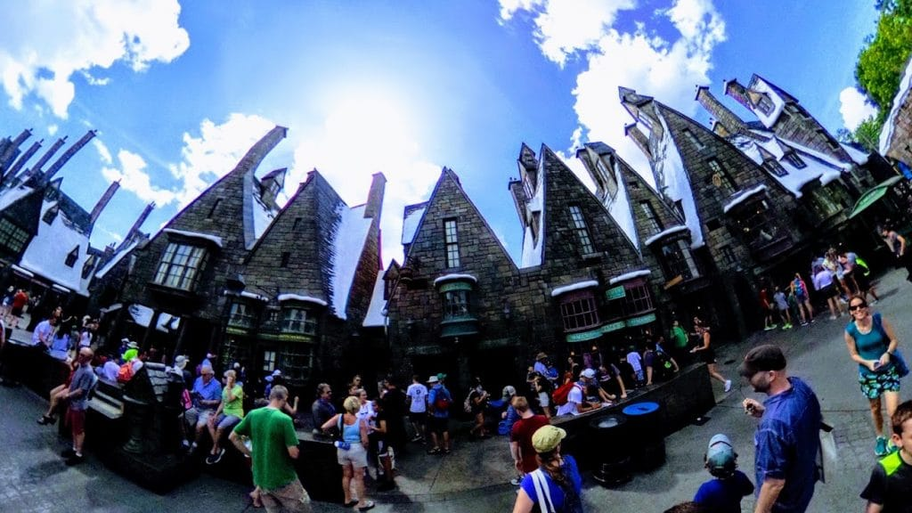 Wizarding World of Harry Potter 360 degree photo tour