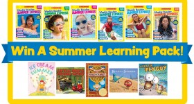Scholastic Summer Express workbooks