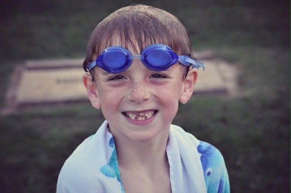 Kyle swim goggles