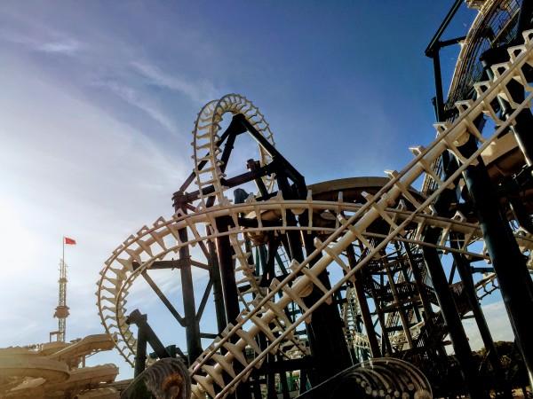 Wildwood Morey's Piers Rollercoaster