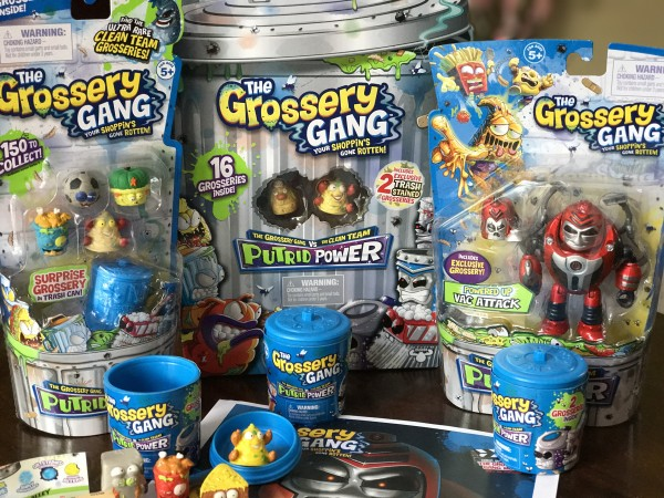 Grossery Gang Putrid Power Season 3 Unboxing