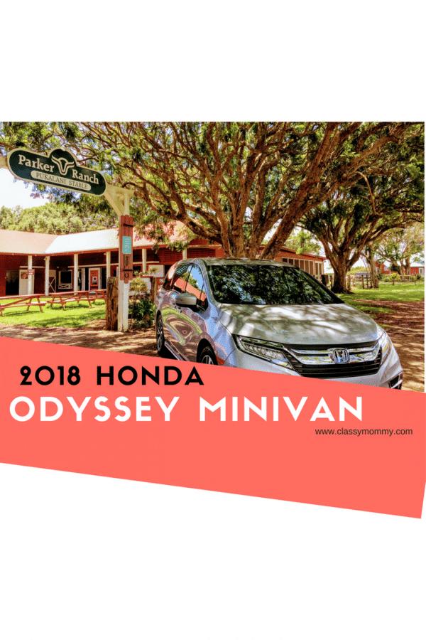 2018 Honda Odyssey Minivan Review