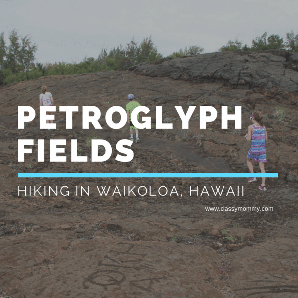 Petroglyph Fields Hiking on Big Island of Hawaii