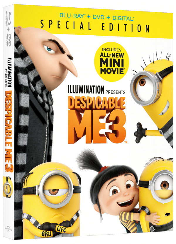 Despicable Me 3 Special Edition Arrives November 21st