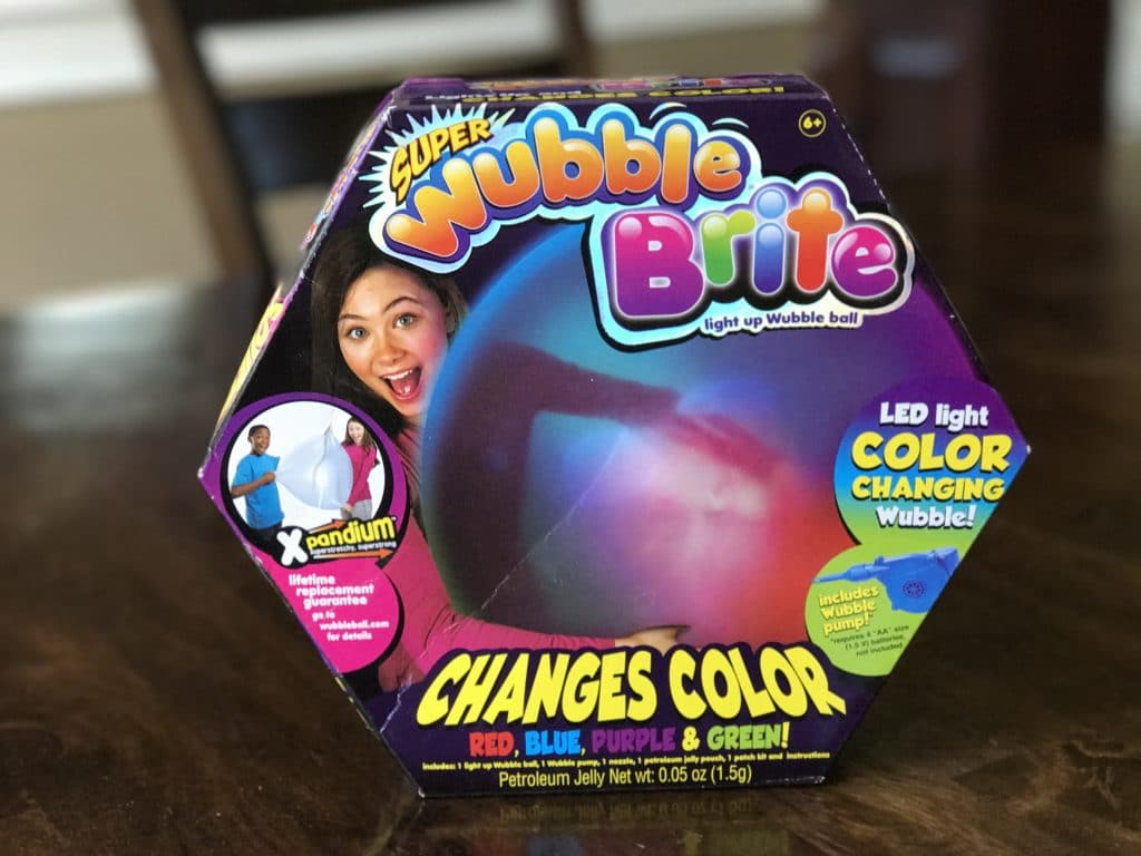Super Wubble Bubble Brite