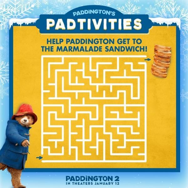 Free Paddington Printable Coloring Pages