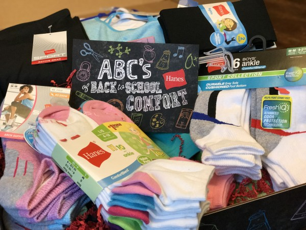 Back to School Essentials for Comfort from Hanes