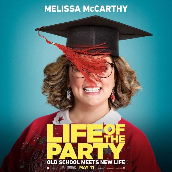 Inside Scoop from The Life of the Party Movie with Melissa McCarthy
