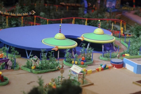 Toy Story Land ride
