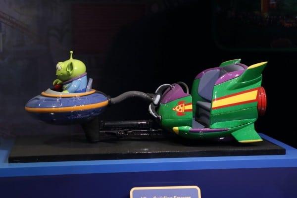 ToyStory Land Model alien saucer
