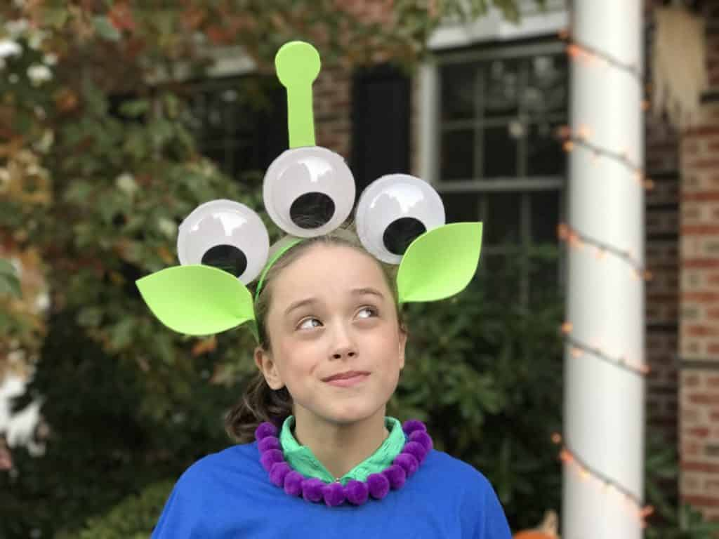 How to Make a DIY Toy Story Alien Costume
