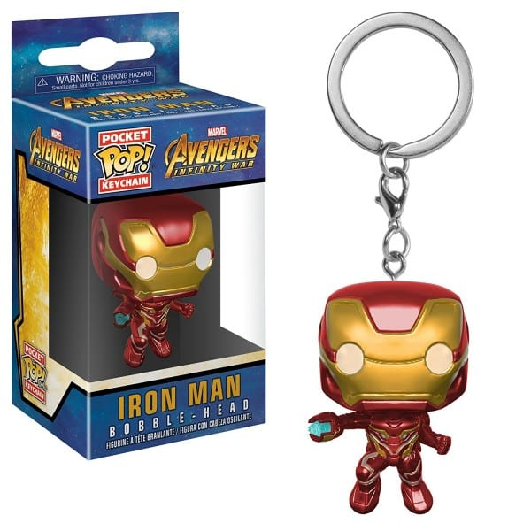 Iron Man Funko Pop key chain