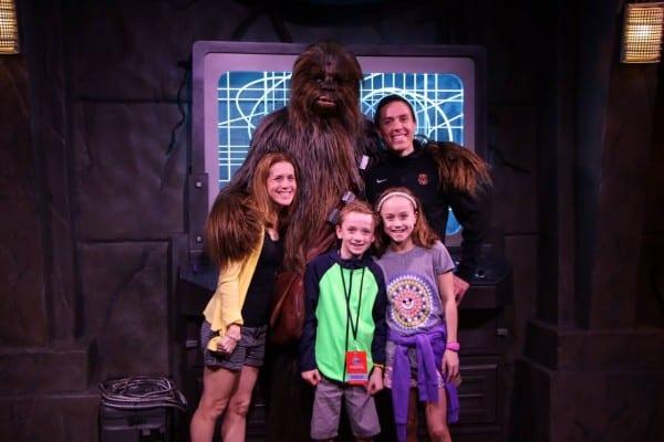 Chewbacca Family photo