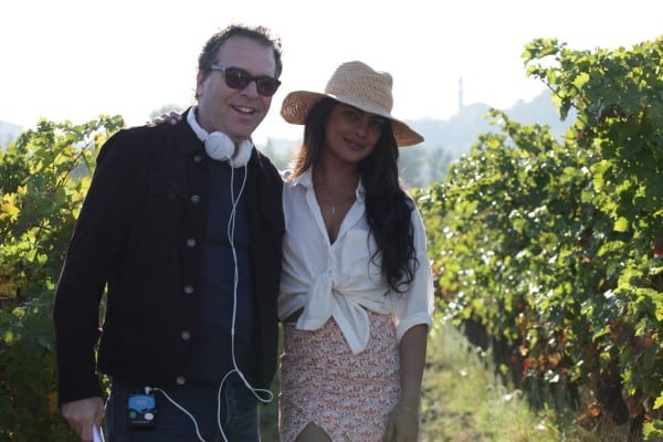 "Behind the scenes of episode 301 ""The Conscience Code"" MICHAEL SEITZMAN (EXECUTIVE PRODUCER), PRIYANKA CHOPRA"