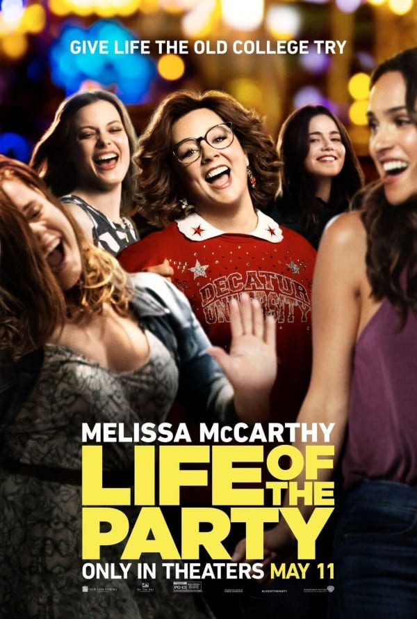 Life of the Party Movie Poster May 11
